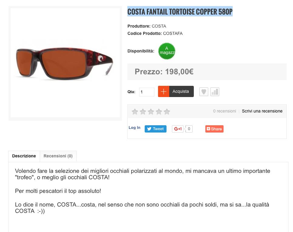 Costa Fantail